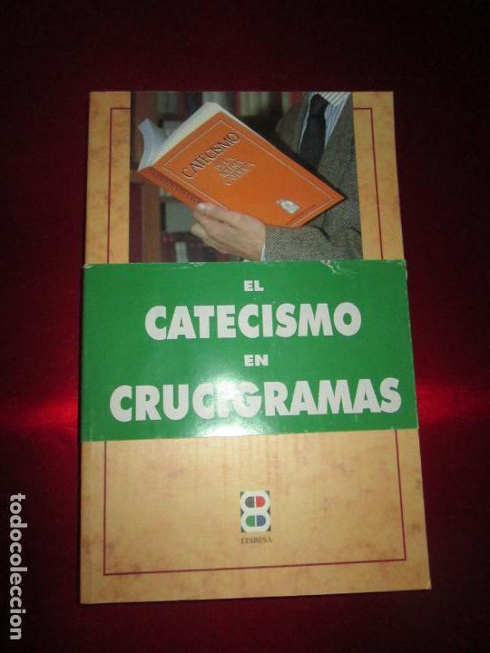 Libros de segunda mano: LIBRO-VIVE TÚ FÉ-LUCÍA CARAM-EL CATECISMO EN CRUCIGRAMAS-4ªEDICIÓN-1995-NUEVO-FAJA-VER FOTOS - Foto 4 - 135905530