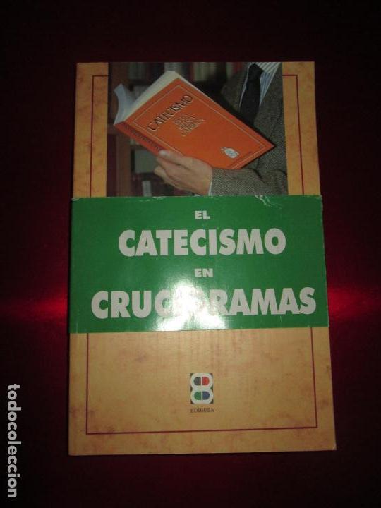 Libros de segunda mano: LIBRO-VIVE TÚ FÉ-LUCÍA CARAM-EL CATECISMO EN CRUCIGRAMAS-4ªEDICIÓN-1995-NUEVO-FAJA-VER FOTOS - Foto 5 - 135905530