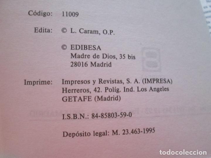 Libros de segunda mano: LIBRO-VIVE TÚ FÉ-LUCÍA CARAM-EL CATECISMO EN CRUCIGRAMAS-4ªEDICIÓN-1995-NUEVO-FAJA-VER FOTOS - Foto 10 - 135905530