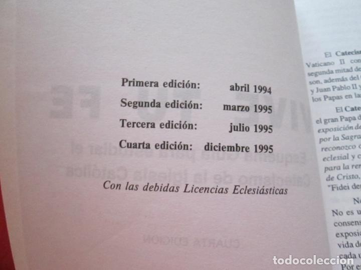 Libros de segunda mano: LIBRO-VIVE TÚ FÉ-LUCÍA CARAM-EL CATECISMO EN CRUCIGRAMAS-4ªEDICIÓN-1995-NUEVO-FAJA-VER FOTOS - Foto 11 - 135905530