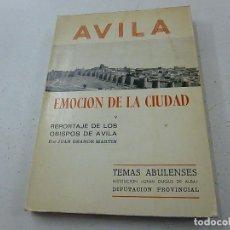 Gebrauchte Bücher - ÁVILA .Emoción de la cudad . Reportaje obispos de Ávila . Juan Grande Martín.-CCC 2 - 136505186