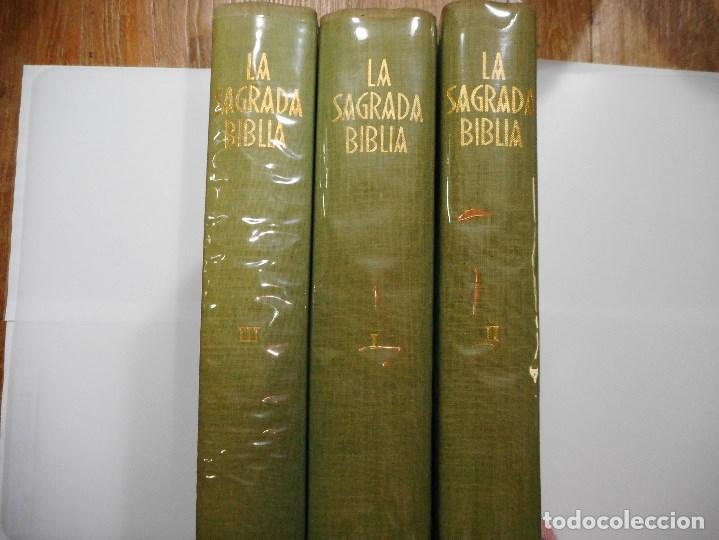 LA SAGRADA BIBLIA Y90606 (Libros de Segunda Mano - Religión)