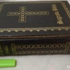 Libros de segunda mano: SAGRADA BIBLIA-TRADUCIDA VULGATA-FELIX TORRES AMAT-CASA BIBLIA CATOLICA-1965. Lote 137232774