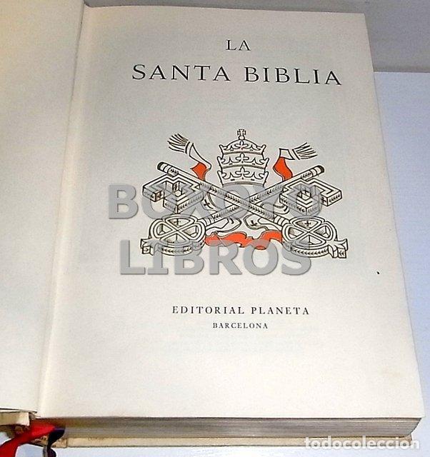 Libros de segunda mano: La Santa Biblia (Biblia de la familia) - Foto 3 - 137270838