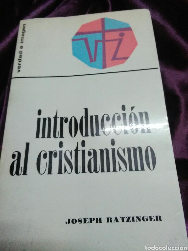 INTRODUCCIÓN AL CRISTIANISMO. J. RATZINGER (BENEDICTO XVI). ED. SÍGUEME. 1971. 2ª ED. (Libros de Segunda Mano - Religión)