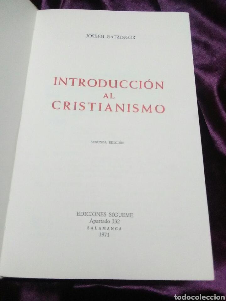 Libros de segunda mano: Introducción al cristianismo. J. Ratzinger (Benedicto XVI). Ed. Sígueme. 1971. 2ª ed. - Foto 2 - 137309988