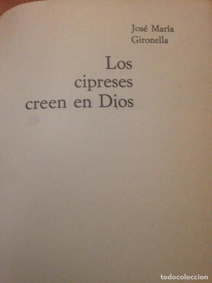 Libros de segunda mano: LIBRO ANTIGUO 1931 LOS CIPRESES CREEN EN DIOS !! - Foto 2 - 137971165