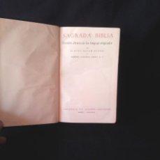 Libros de segunda mano: ELOINO NACAR FUSTER Y ALBERTO COLUNGA - SAGRADA BIBLIA NACAR COLUNGA 1968 - CON ESTUCHE. Lote 138559286