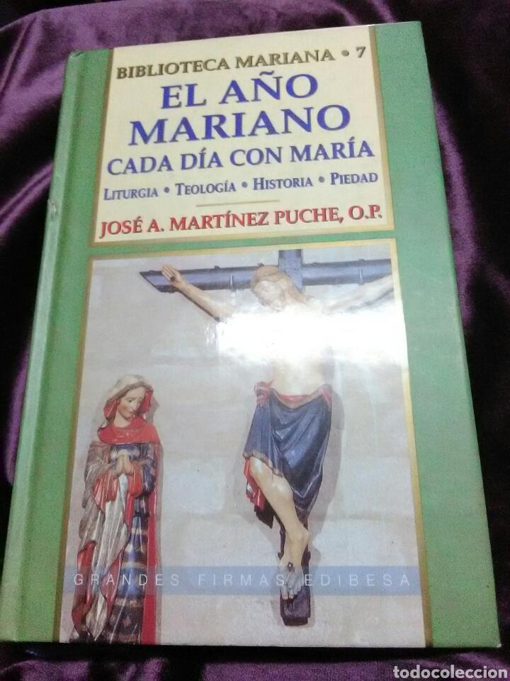 EL AÑO MARIANO, CADA DÍA CON MARÍA. MZ. PUCHE. EDIBESA. 2002. (Libros de Segunda Mano - Religión)