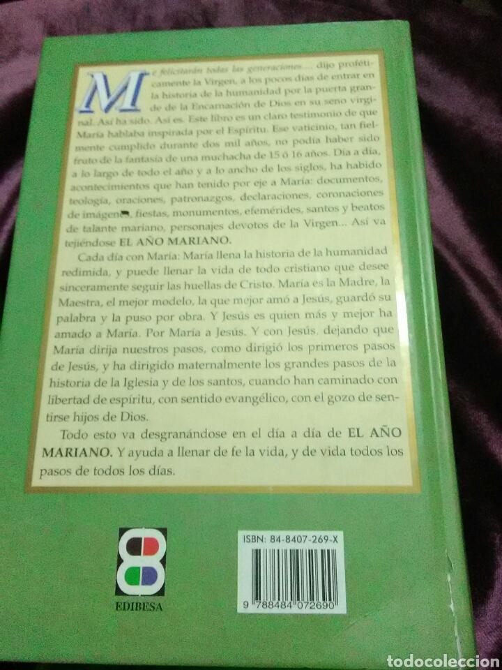 Libros de segunda mano: El año mariano, cada día con María. Mz. Puche. Edibesa. 2002. - Foto 2 - 138723446