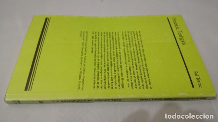 Libros de segunda mano: LA IMAGINACION PROFETICA-WALTER BRUEGGEMANNPRESENCIA TEOLOGICA-SAL TERRAE - Foto 2 - 138840982