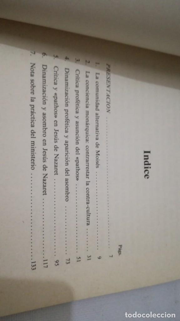 Libros de segunda mano: LA IMAGINACION PROFETICA-WALTER BRUEGGEMANNPRESENCIA TEOLOGICA-SAL TERRAE - Foto 6 - 138840982