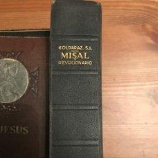 Libros de segunda mano: MISAL DEVOCIONARIO 1956 CARLOS GOLDARAZ CASTELLANO-LATIN. Lote 138861574