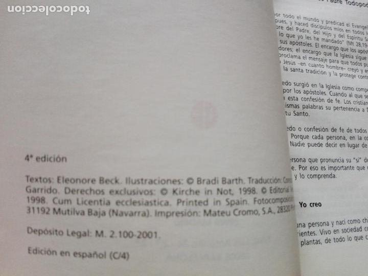 Libros de segunda mano: LIBRO-YO CREO-PEQUEÑO CATECISMO CATÓLICO-4ªEDICIÓN-2001-PERFECTO ESTADO-VER FOTOS - Foto 3 - 139242714