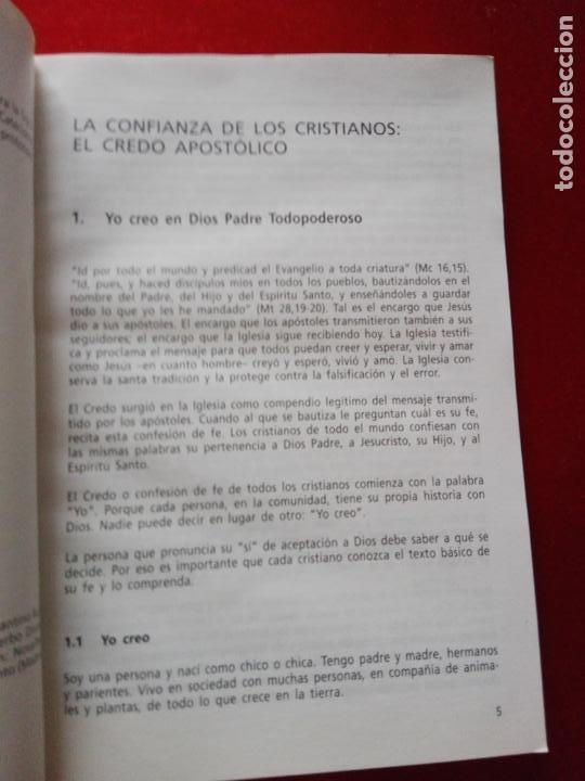 Libros de segunda mano: LIBRO-YO CREO-PEQUEÑO CATECISMO CATÓLICO-4ªEDICIÓN-2001-PERFECTO ESTADO-VER FOTOS - Foto 5 - 139242714