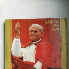Libros de segunda mano: JUAN PABLO II ALBUM DEL PAPA. Lote 139247030