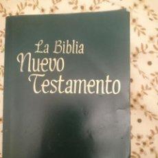 Libros de segunda mano: LA BIBLIA NUEVO TESTAMENTO --REFM3E3. Lote 139551154