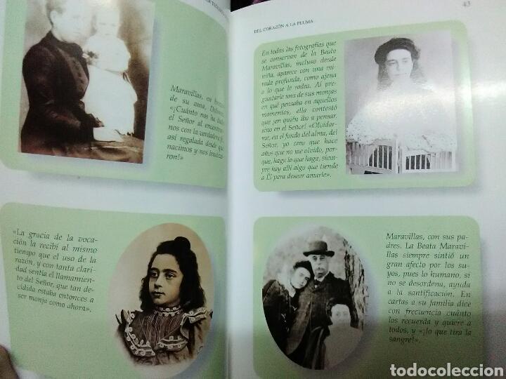 Libros de segunda mano: Del corazón a la pluma. (Santa Maravillas de Jesús). Monte Carmelo, 1999. - Foto 4 - 139593006