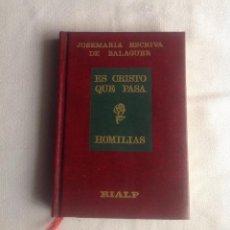 Libros de segunda mano: ES CRISTO QUE PASA, JOSEMARIA ESCRIBA DE BALAGUER. Lote 139965122