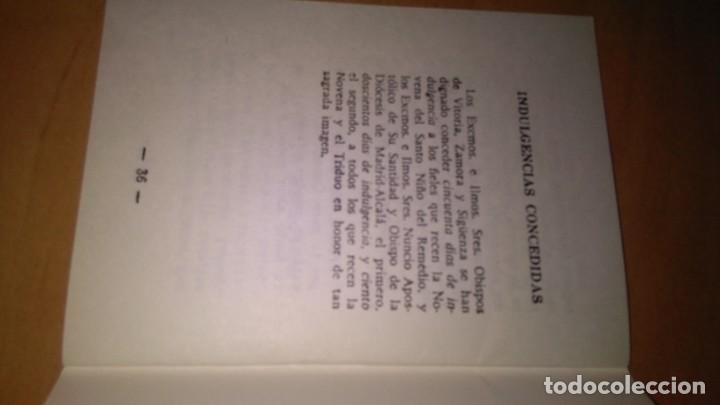 Libros de segunda mano: Novena y triduo , en honor del santo niño del remedio, librito de mano religión. - Foto 2 - 140431942