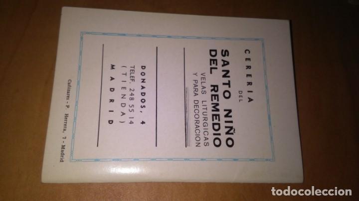 Libros de segunda mano: Novena y triduo , en honor del santo niño del remedio, librito de mano religión. - Foto 3 - 140431942