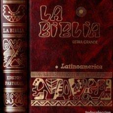 Libros de segunda mano: LA BIBLIA LATINOAMÉRICA LETRA GRANDE (VERBO DIVINO, 1988). Lote 141229714