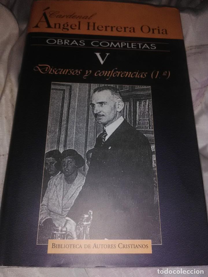 OBRAS COMPLETAS. CARD. ÁNGEL HERRERA ORIA. (V). BAC Nº 650. 2004. (Libros de Segunda Mano - Religión)