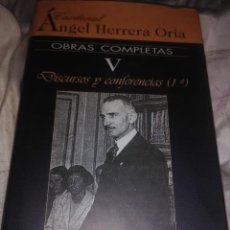 Libros de segunda mano: OBRAS COMPLETAS. CARD. ÁNGEL HERRERA ORIA. (V). BAC Nº 650. 2004.. Lote 141260134