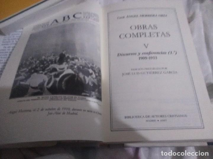 Libros de segunda mano: Obras completas. Card. Ángel Herrera Oria. (V). BAC nº 650. 2004. - Foto 3 - 141260134