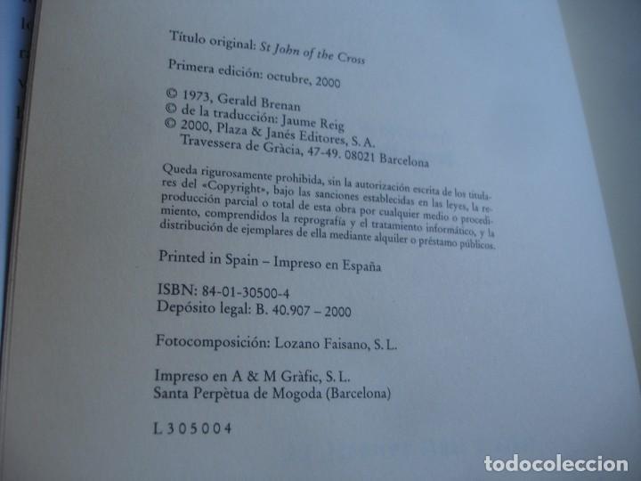 Libros de segunda mano: Gerald Brenan. San Juan de la Cruz - Foto 2 - 142107562