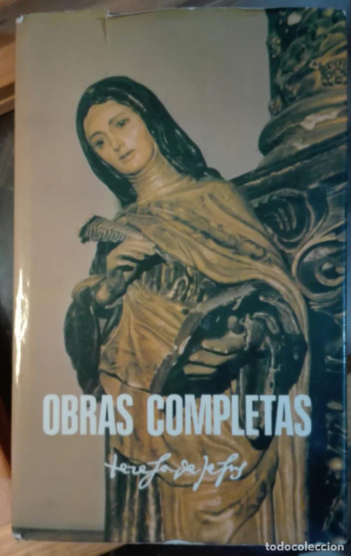 TERESA DE JESÚS. OBRAS COMPLETAS. 1984 (Libros de Segunda Mano - Religión)