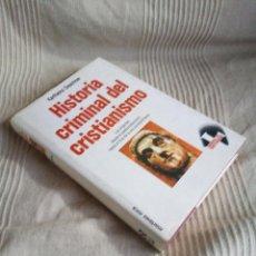 Libros de segunda mano: HISTORIA CRIMINAL DEL CRISTIANISMO, 1 - KARLHEINZ DESCHNER - MARTÍNEZ ROCA. Lote 142432130