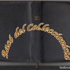 Libros de segunda mano: LA SANTA BIBLIA, (CON CREMALLERA) VERSION DE CASIODORO DE REINA REVISADA POR CIPRIANO DE VALERA,1960. Lote 142528386