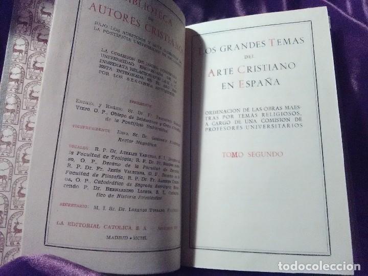 Libros de segunda mano: Los grandes temas del arte cristiano (II) Cristo en el Evangelio. S. Cantón. BAC n 64. 1950. - Foto 2 - 142627074