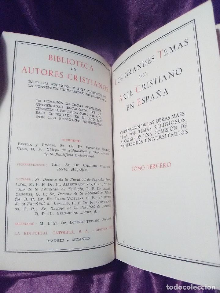 Libros de segunda mano: Los grandes temas del arte cristiano (III) La Pasión de Cristo. Camón Aznar. BAC n 47. 1949. - Foto 2 - 142627238
