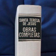 Libros de segunda mano - SANTA TERESA DE JESÚS: OBRAS COMPLETAS - BIBLIOTECA DE AUTORES CRISTIANOS - 142789138