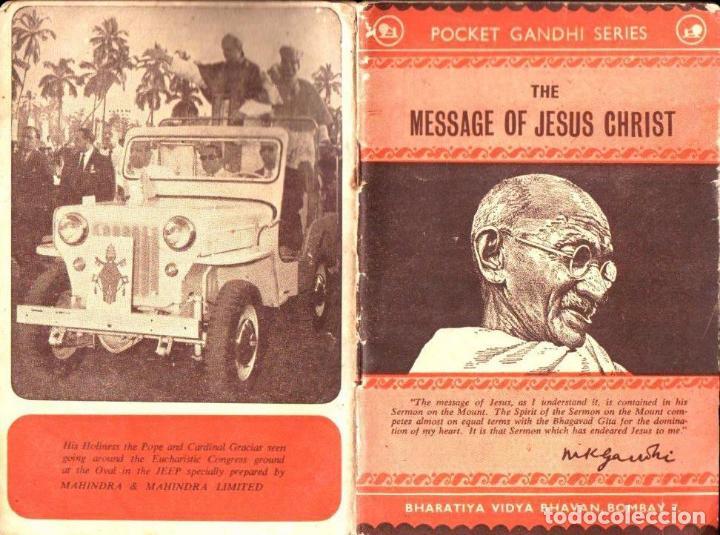 MAHATMA GANDHI : THE MESSAGE OF JESUS CHRIST (BOMBAY, 1964) (Libros de Segunda Mano - Religión)
