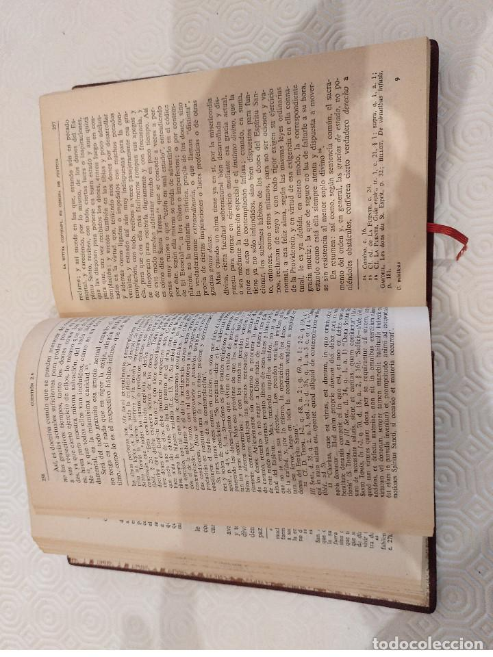 Libros de segunda mano: CUESTIONES MISTICAS. J.G.ARINTERO. BAC 1956. PIEL. - Foto 5 - 142959942