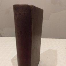 Libros de segunda mano: OBRAS COMPLETAS DE DANTE ALIGHIERI. BAC 1956. PIEL.. Lote 142981306