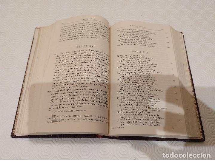 Libros de segunda mano: OBRAS COMPLETAS DE DANTE ALIGHIERI. BAC 1956. PIEL. - Foto 5 - 142981306