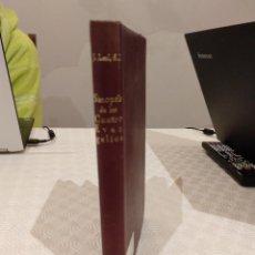 Libros de segunda mano: SINOPSIS CONCORDADA DE LOS CUATRO EVANGELIOS POR JUAN LEAL. BAC 1954. PIEL.. Lote 142991550