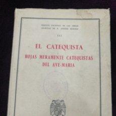 Libros de segunda mano: PADRE MANJÓN OBRAS SELECTAS 1946. Lote 142996574