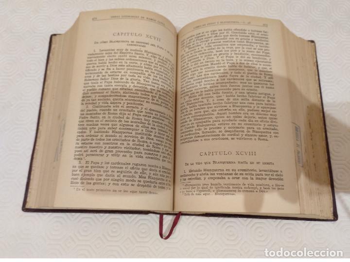 Libros de segunda mano: RAMON LLULL OBRAS LITERARIAS. BAC 1948. PIEL. - Foto 5 - 143002486