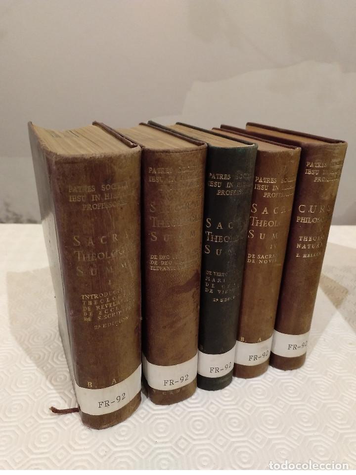 SACRAE THEOLOGIAE SUMMA. 5 TOMOS OBRA COMPLETA. BAC 1949, 1951, 1952 Y 1953. (Libros de Segunda Mano - Religión)