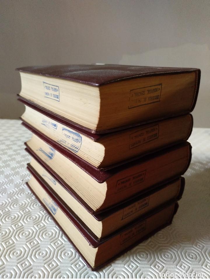Libros de segunda mano: SUMMA THEOLOGIAE SANCTI THOMAEL AQUINATIS. 5 TOMOS. BAC 1951. PIEL. - Foto 2 - 143043634