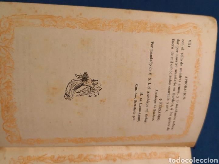 Libros de segunda mano: Oficio Divino. De 1869 - Foto 5 - 143091010