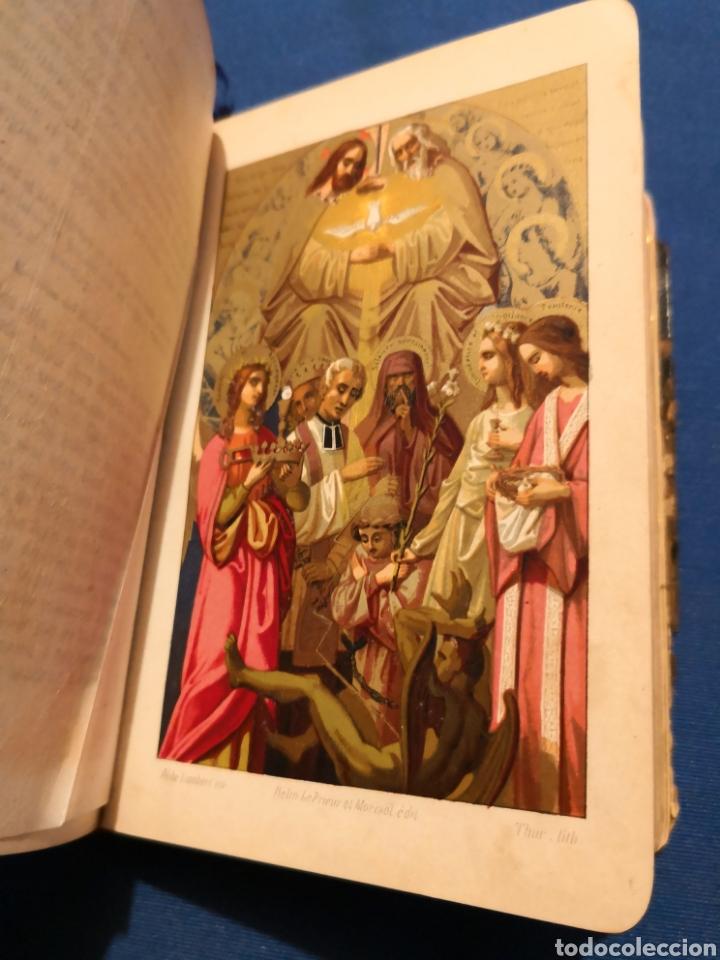 Libros de segunda mano: Oficio Divino. De 1869 - Foto 7 - 143091010