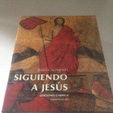 Libros de segunda mano: SIGUIENDO A JESUS - EDICIONES GARRIGA. Lote 143539581