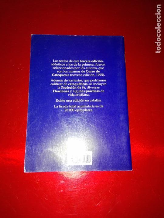 Libros de segunda mano: LIBRO-CURSO DE CATEQUESIS ADAPTADO AL CATECISMO DE LA IGLESIA CATÓLICA-SÍNTESIS-3ªEDICIÓN-1999 - Foto 7 - 144161366
