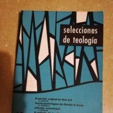 Libros de segunda mano: SELECCIONES DE TEOLOGIA (Nº 12, AÑO III, 1964) TEORIA ESCATOLOGICA DE CHARLES H. DODD. Lote 144424862